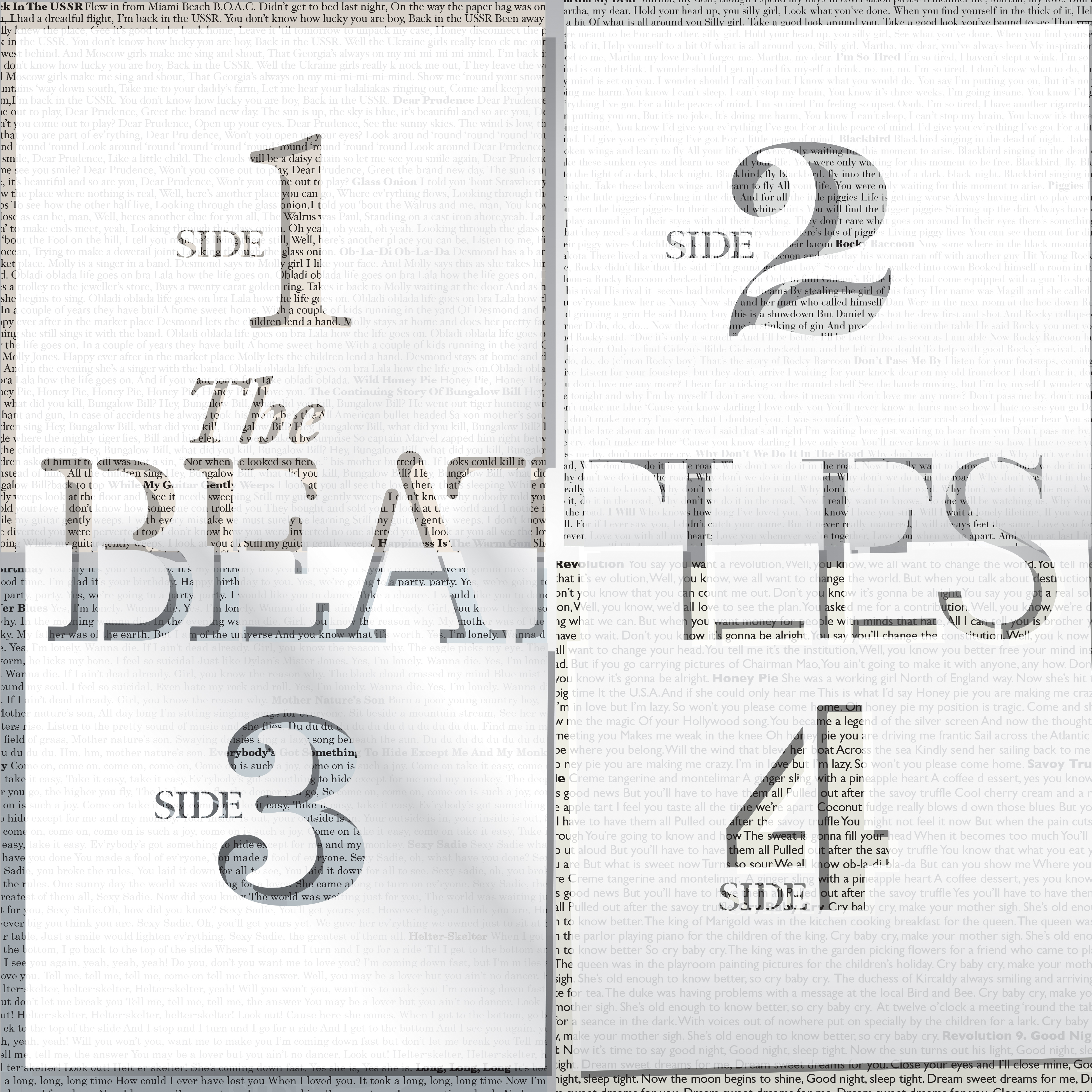 Beatles White Albm 1 BeatlesFinal4