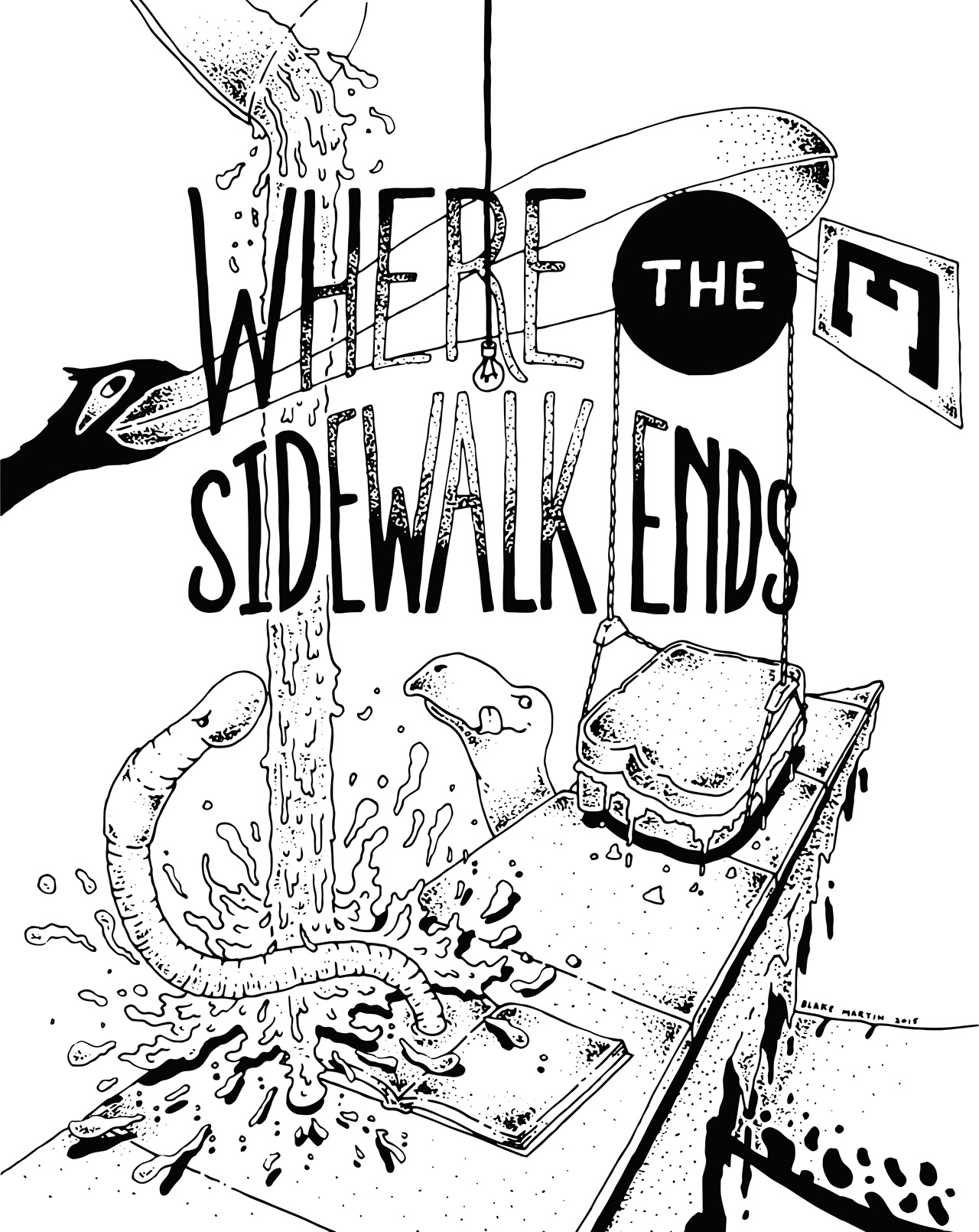 "Blake Martin | ""Where the Sidewalk Ends"" by Shel Silverstein"