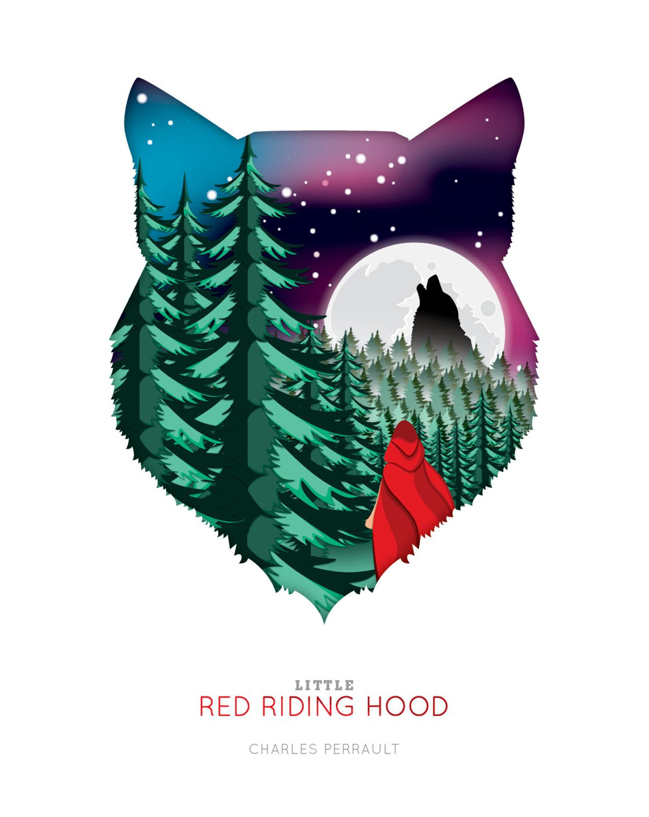 "Erin Kunz | ""Little Red Riding Hood"" by Charles Perrault"