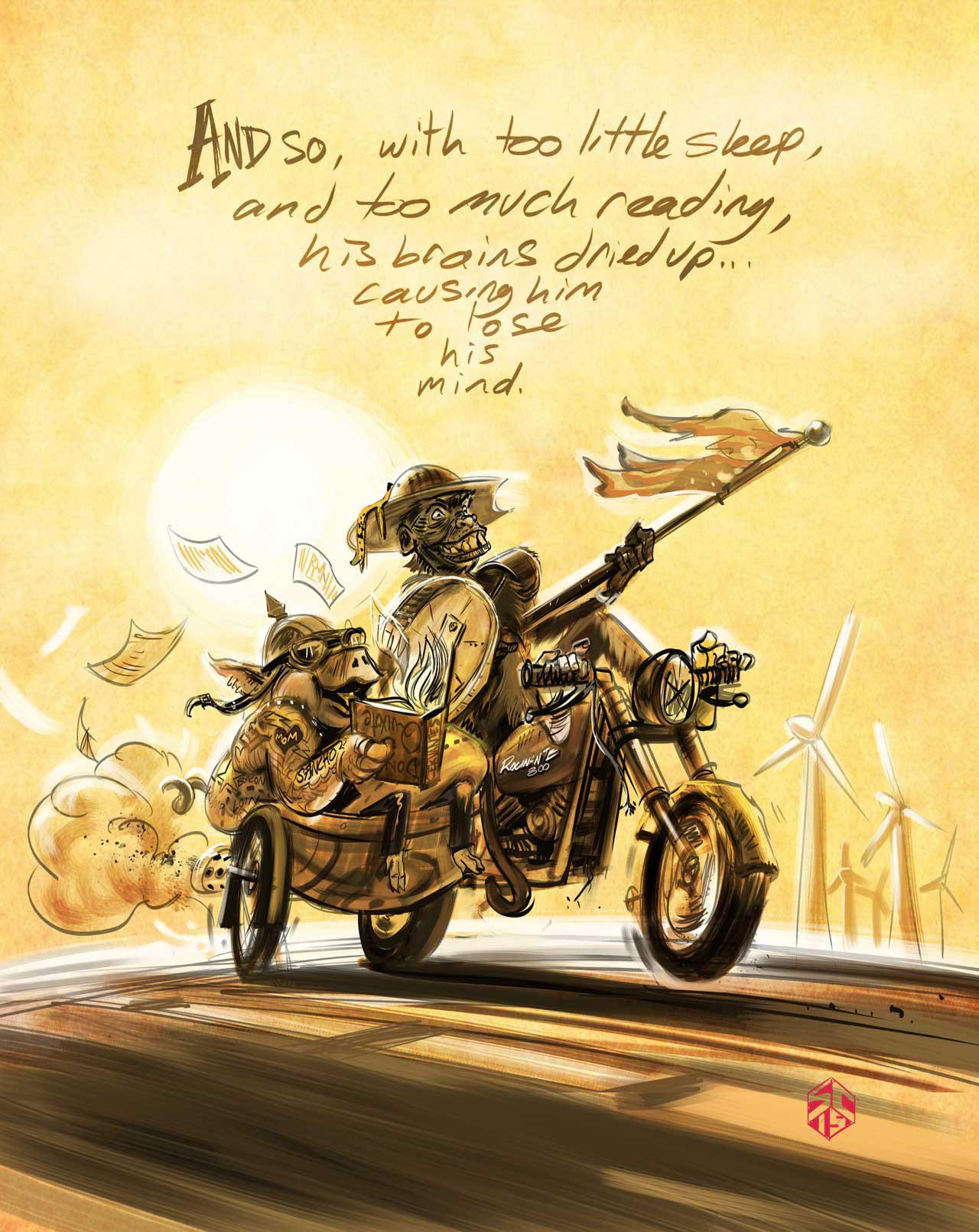 "Steve Curcuru | ""Don Quijote de la Mancha"" by Miguel de Cervantes"