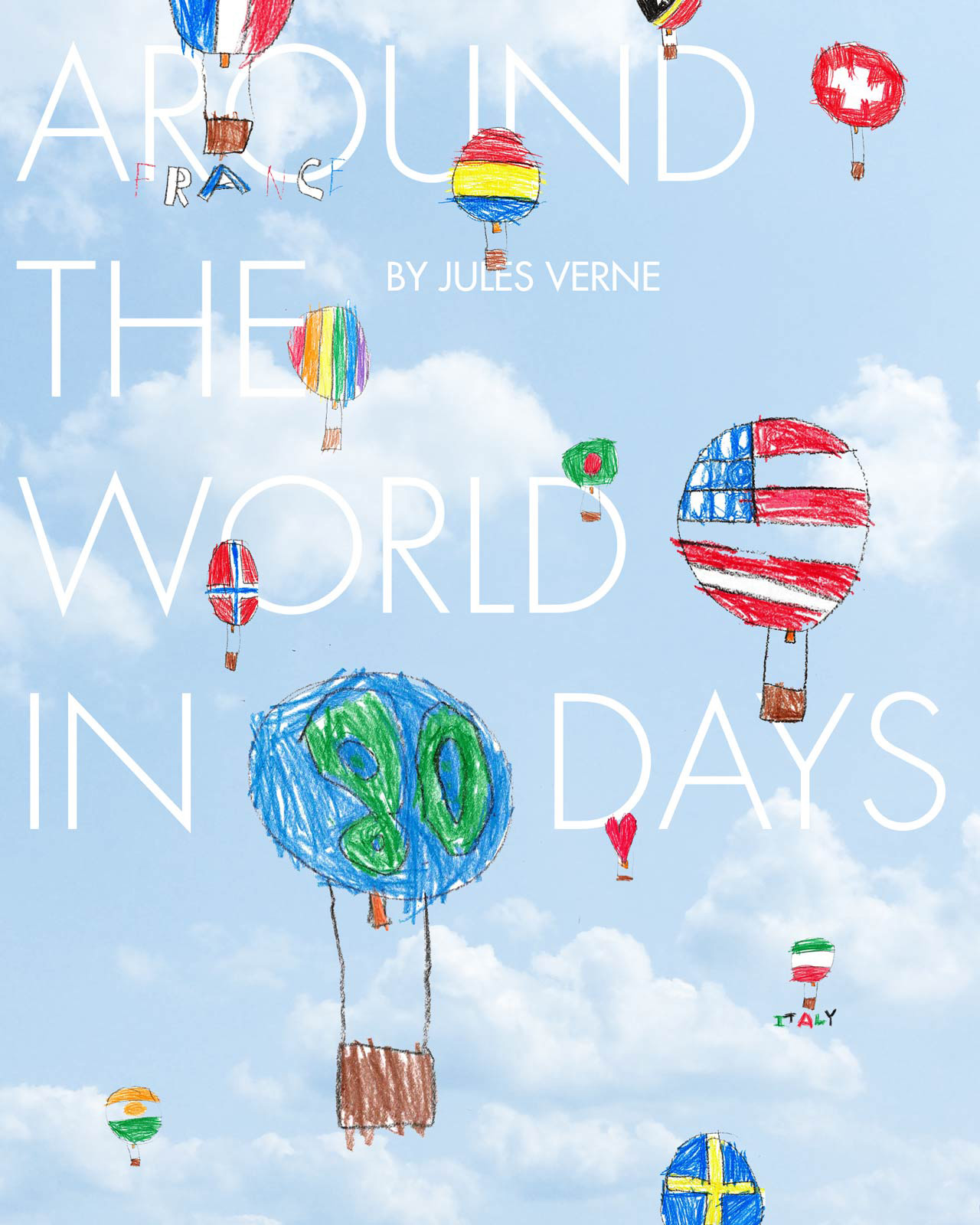 "Ethan & Amy Fidler | ""Around the World in 80 Days"" by Jules Verne"