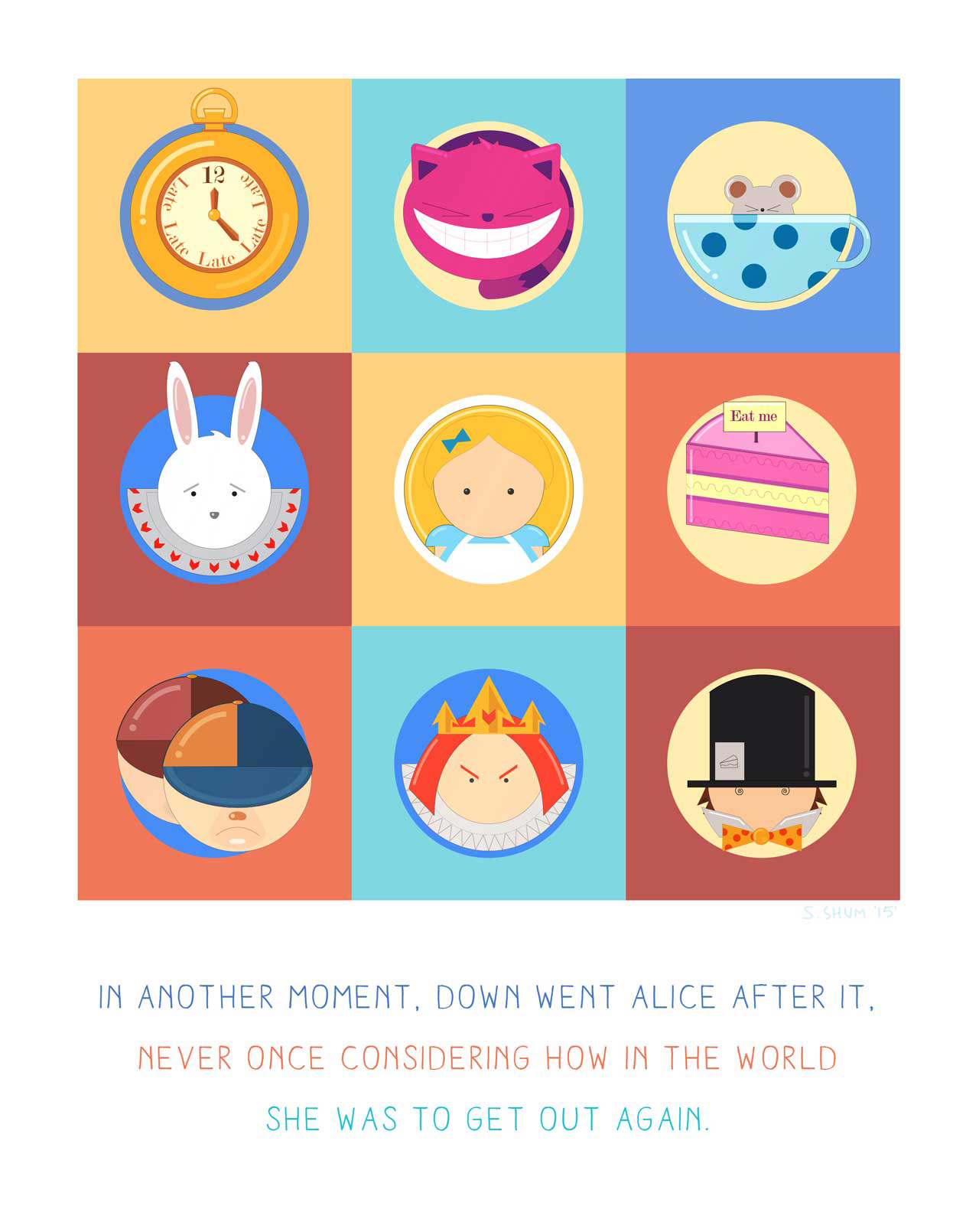 "Sally Shum | ""Alice in Wonderland"" by Lewis Carroll"